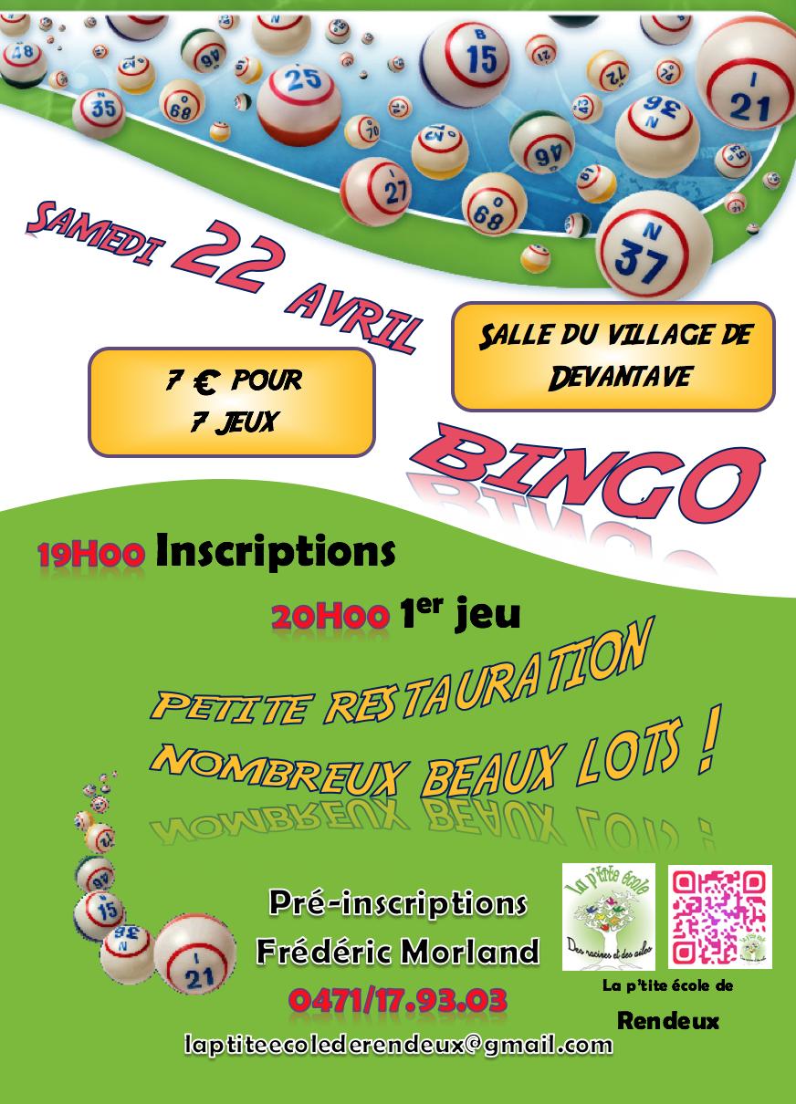 Affiche bingo 2017