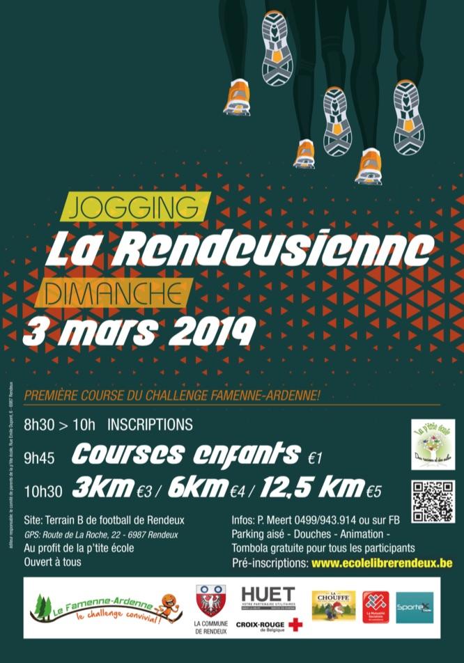 Jogging La Rendeusienne 2019